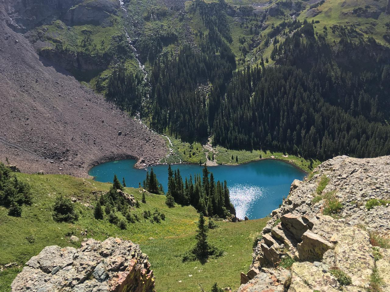 Lowest of the Blue Lakes